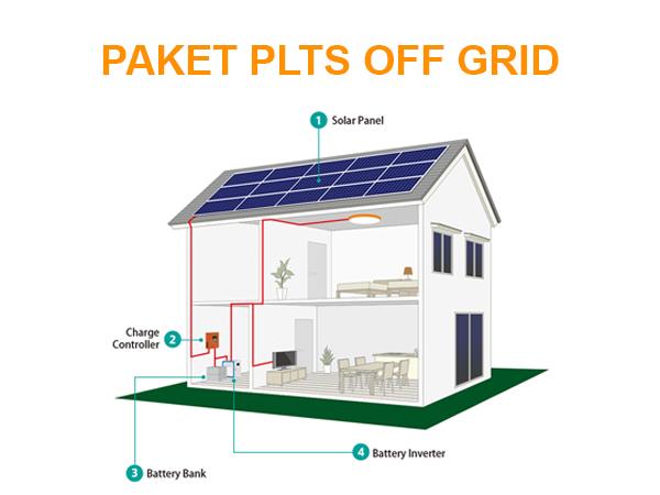 Paket PLTS Off Grid