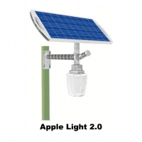 Lampu PJU Tenaga Surya (Apple Light 2.0)