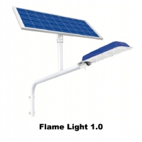 Lampu PJU Tenaga Surya (Flame Light 1.0)